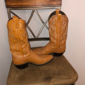 Dan Post Elephant skin Western Boots